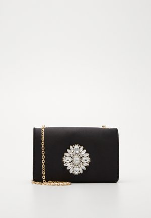 MADDISON EMBELLISHED CLASP  - Clutches - black