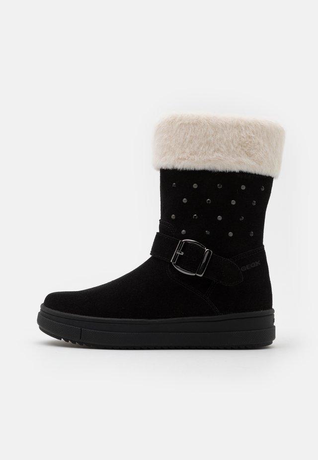 REBECCA GIRL WPF - Vinterstøvler - black