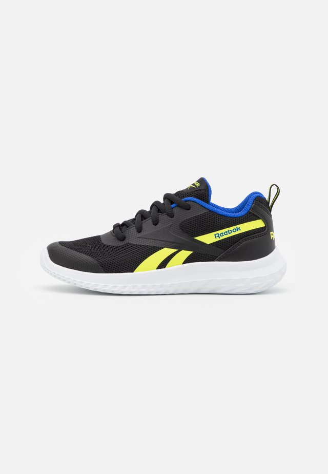 RUSH RUNNER 3.0 UNISEX - Obuwie do biegania treningowe - black/yellow/blue