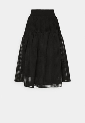 MOLISE SKIRT - A-linjainen hame - black