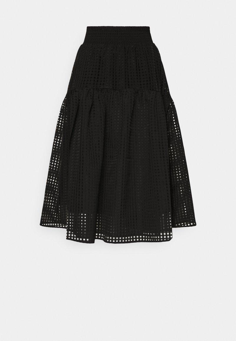 DESIGNERS REMIX - MOLISE SKIRT - A-line skirt - black