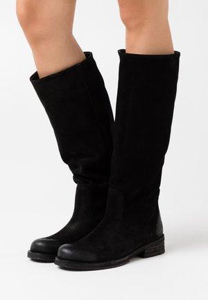 COOPER - Boots - nirvan nero