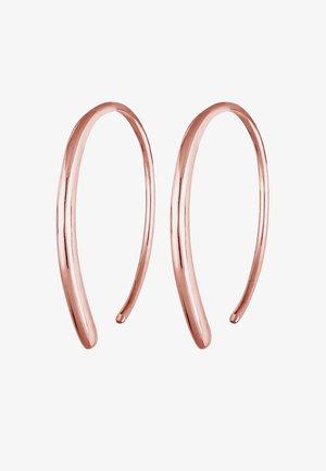 CREOLE GEO BASIC TREND BLOGGER LAURA - Oorbellen - rose gold-coloured