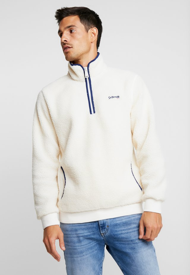 ANDRIC  - Fleece jumper - offwhite
