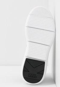 KARL LAGERFELD - VITESSE LEGERE  - High-top trainers - black/white - 6