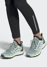 adidas Performance - TERREX AGRAVIC TR TRAIL RUNNING SHOES - Trail running shoes - blue - 0