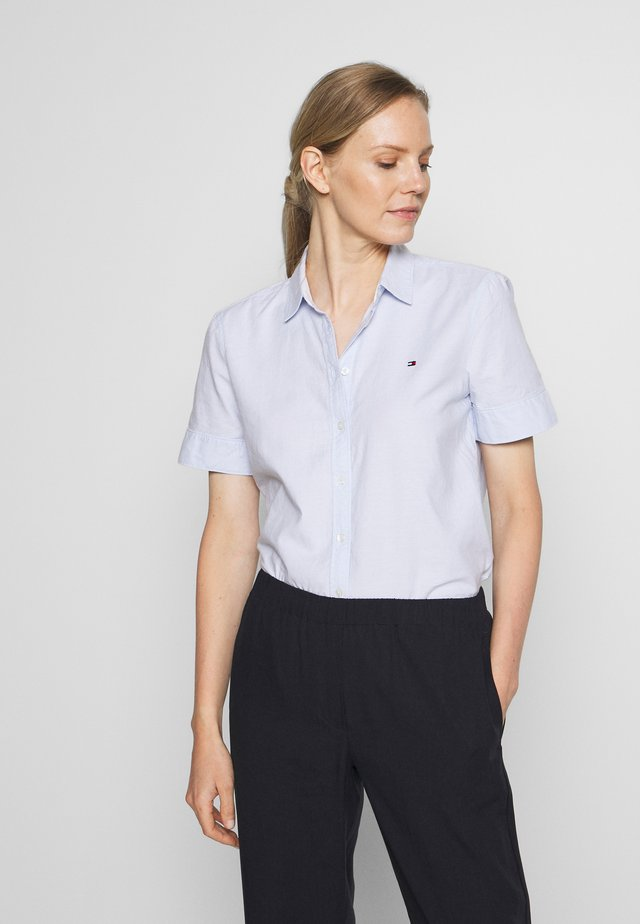HANN SHIRT - Button-down blouse - breezy blue