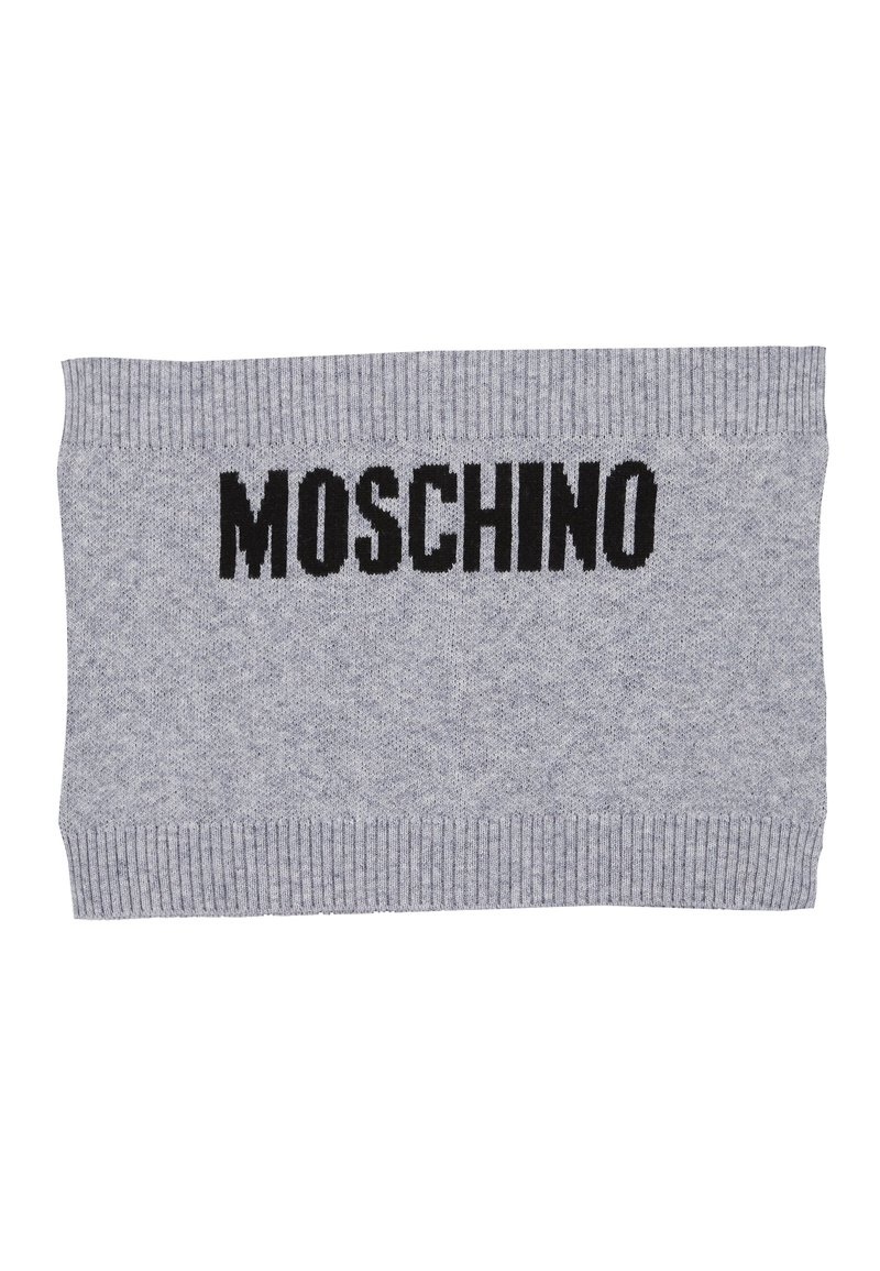 MOSCHINO - NECK WARMER UNISEX - Snood - grey melange
