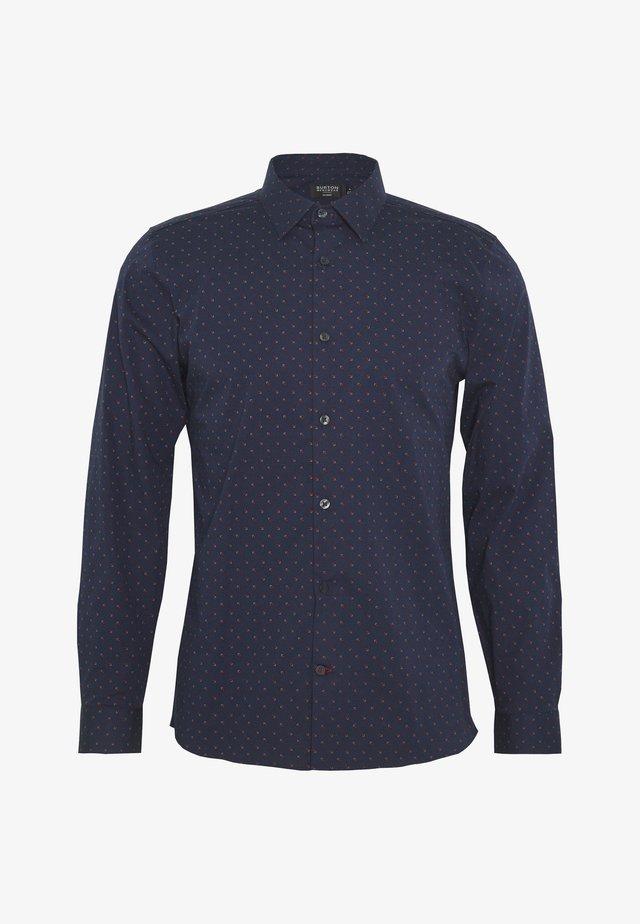 SQUARE PRINT - Overhemd - navy