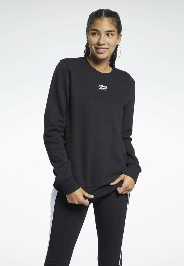 CLASSIC SMALL LOGO CASUAL - T-shirt à manches longues - black