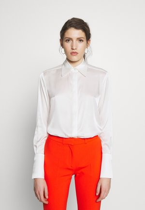 CLASSIC - Button-down blouse - ivory