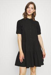 Vero Moda - VMDELTA DRESS - Skjortekjole - black - 0