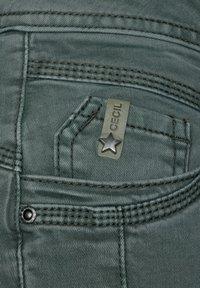 Cecil - Slim fit jeans - grün - 4