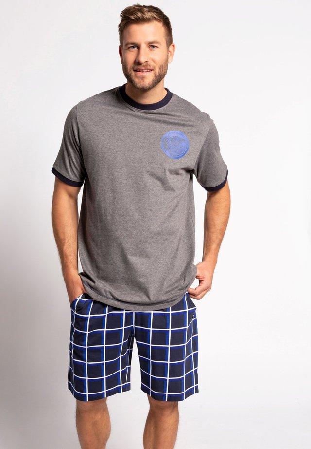 Pyjamashirt - marine
