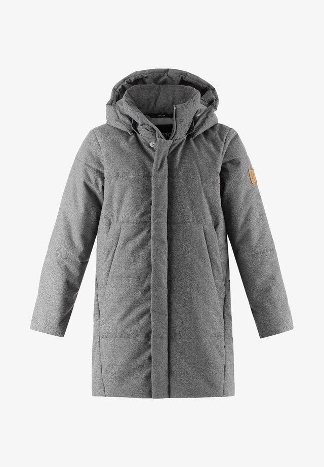 Winter jacket - melange grey
