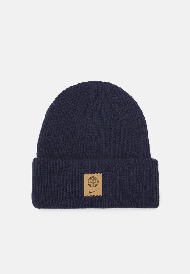 PARIS ST GERMAIN BEANIE CUFFED UNISEX - Bonnet - midnight navy