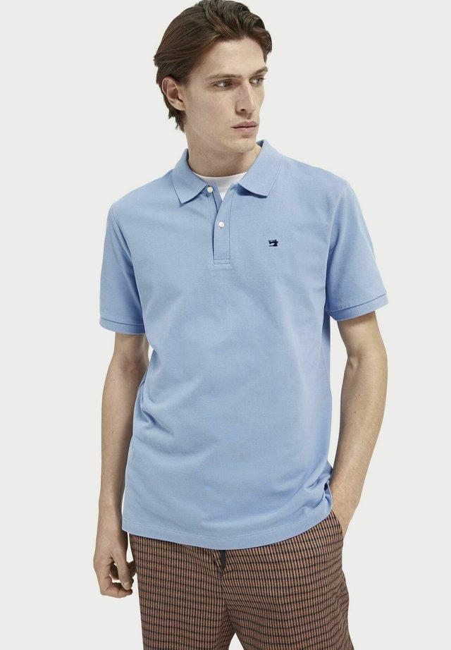 Polo shirt - seaside blue