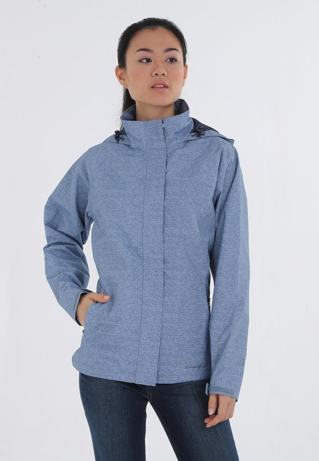 Outdoor jacket - chambray blue