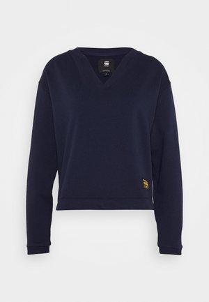 VENARUX XZYPH V R SW WMN L\S - Sweatshirt - sartho blue