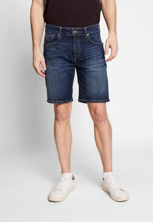 Denim shorts - icon blau
