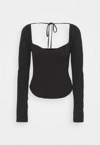 Free People - BRITTANY  - Long sleeved top - black - 0