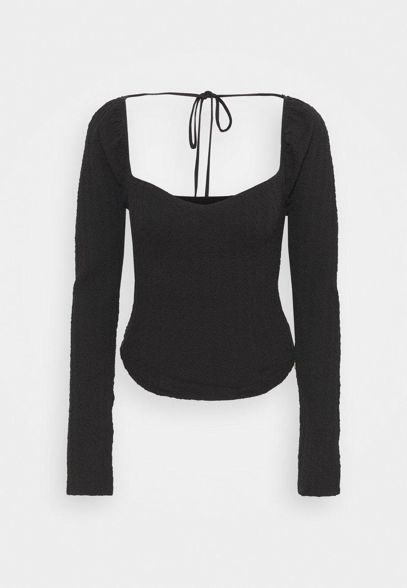 Free People - BRITTANY  - Long sleeved top - black