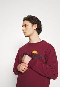 Ellesse - SUCCISO - Sweatshirt - burgundy - 3