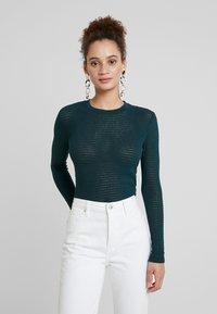 EDITED - JENNA LONGSLEEVE - Long sleeved top - dark green - 0