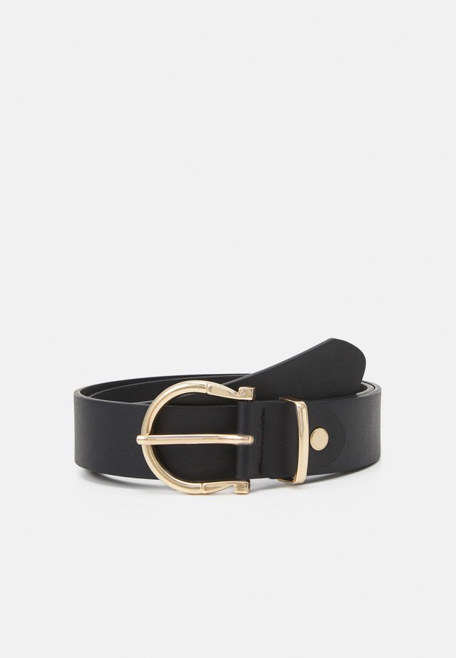 BELT - Pasek - black/gold-coloured