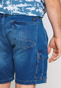 Blend - Jeansshorts - denim middle blue - 5