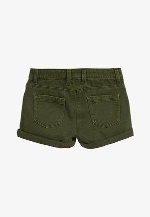 KHAKI UTILITY SHORTS (3-16YRS) - Denim shorts - green
