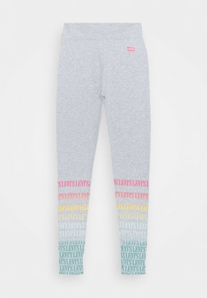HIGH RISE LEGGING - Leggings - Trousers - grey
