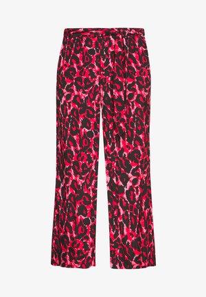 KALEONDRA CULOTTE PANTS - Spodnie materiałowe - red