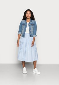 YAS Petite - YASSTRILLA  MIDI SKIRT - A-line skirt - cashmere blue - 1
