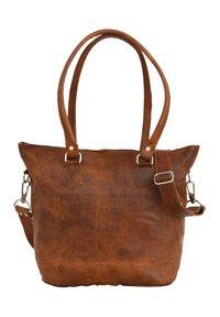 Gusti Leder - Käsilaukku - brown - 3