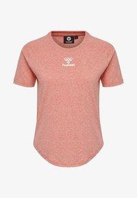 Hummel - PEYTON  - Print T-shirt - calypso coral - 3