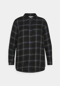 ONLY Carmakoma - CARVIKANA - Button-down blouse - sky captain/black - 4