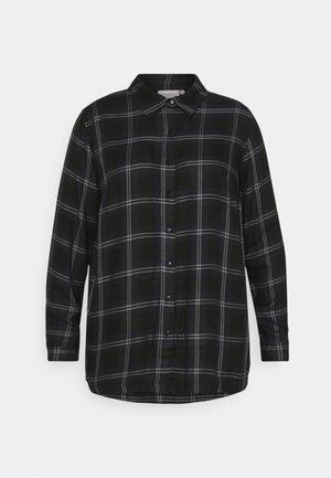 CARVIKANA - Button-down blouse - sky captain/black
