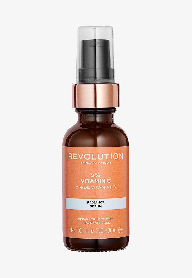 Revolution Skincare - 3% VITAMIN C SERUM - Sérum - -