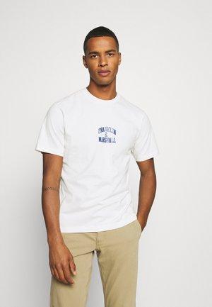 T-shirt med print - oldwhite