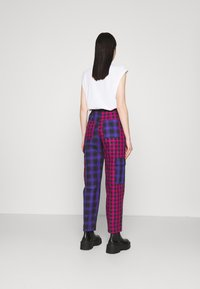 The Ragged Priest - CRUX PANT - Pantalones - pink/purple/black - 2