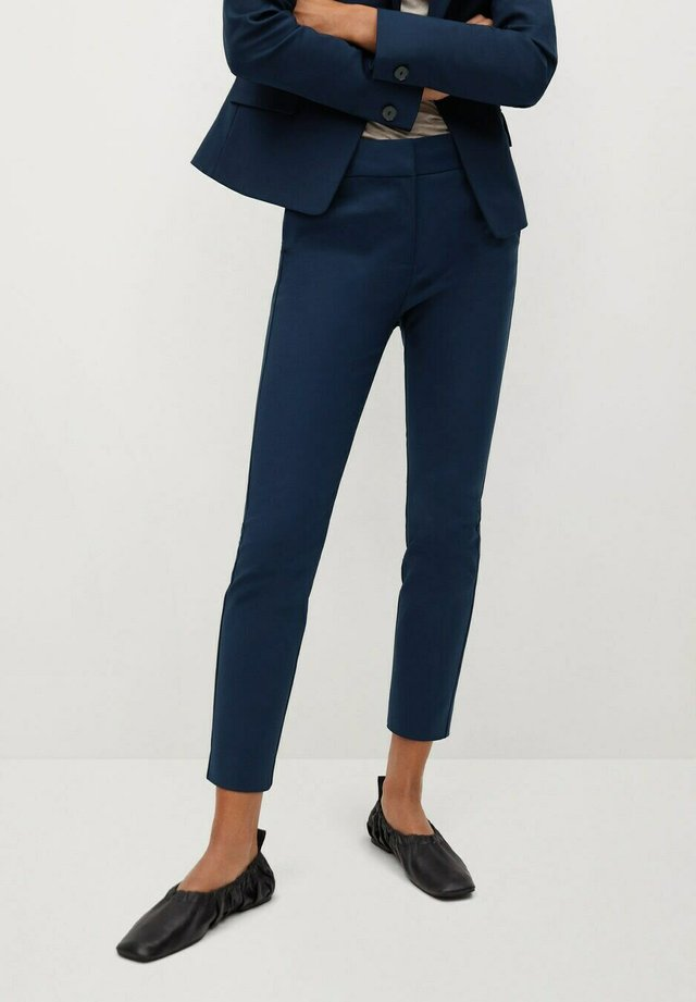 COFI7-N - Pantalon classique - dunkles marineblau
