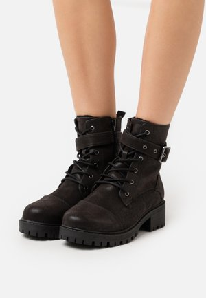VMPATH BOOT - Lace-up ankle boots - black