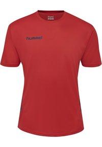 Hummel - DUO SET - Sports shorts - true red/marine - 1