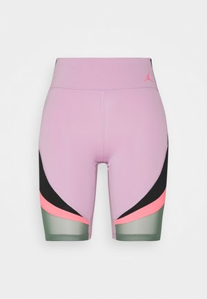 HEATWAVE BIKE - Shorts - arctic pink/black/dutch green