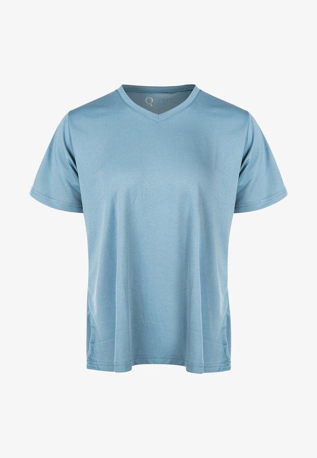 ANNABELLE - Basic T-shirt - blue stone