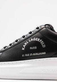 KARL LAGERFELD - KAPRI MAISON LACE - Baskets basses - black/silver - 2