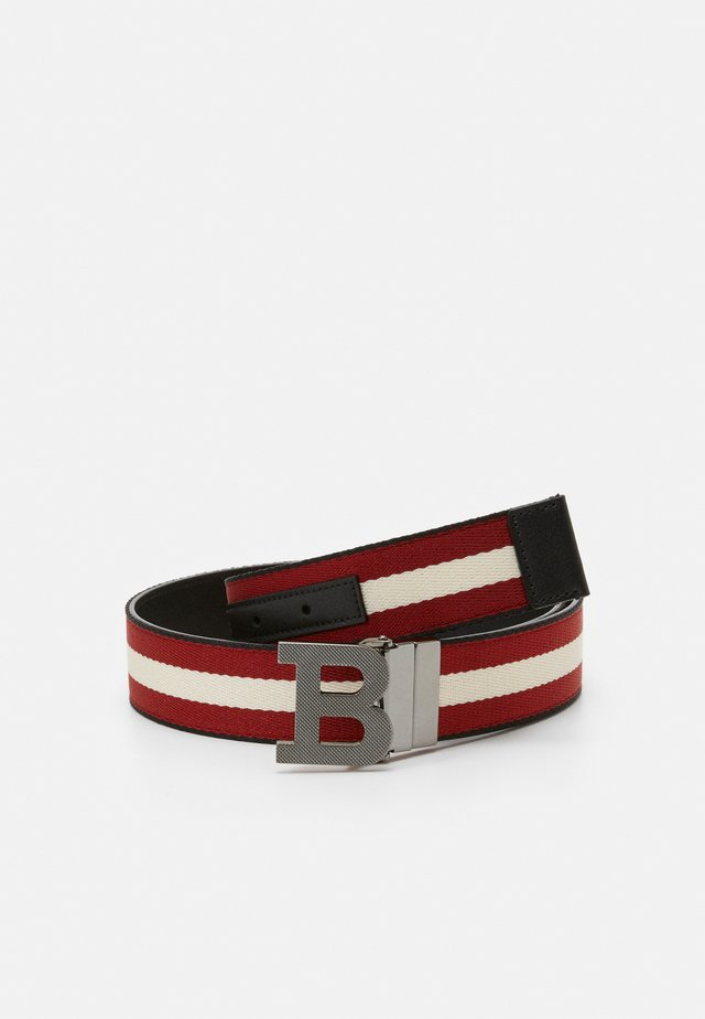Belt - black/bone/red