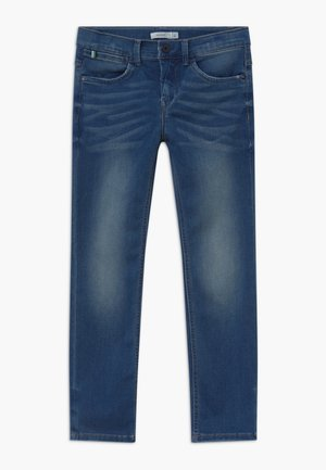 NKMRYAN - Džíny Straight Fit - medium blue denim