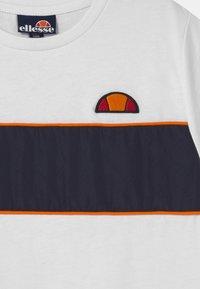 Ellesse - ZABAGLIONE  - Print T-shirt - white - 2